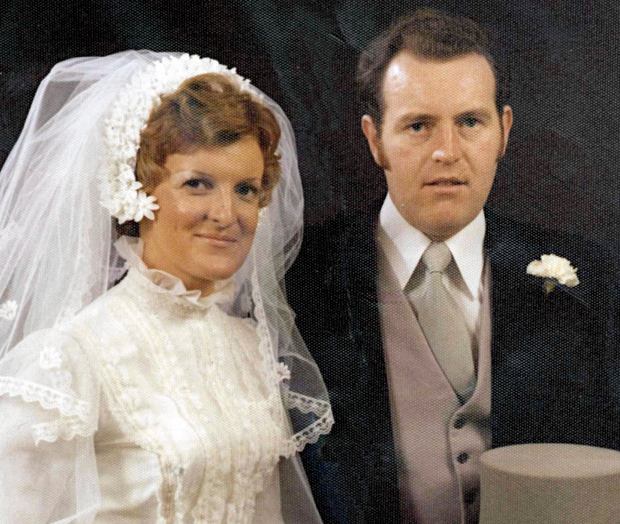 Catherine Nevin with husband Tom whom she had murdered Photo: COLLINS DUBLIN