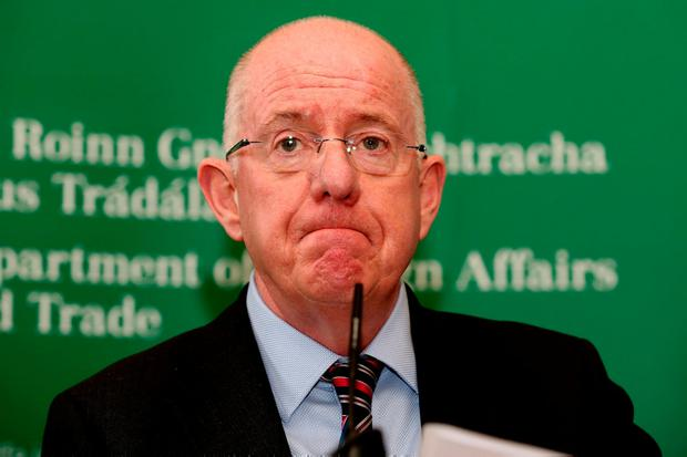 The Minister for Foreign Affairs Charlie Flanagan Photo: Tom Burke