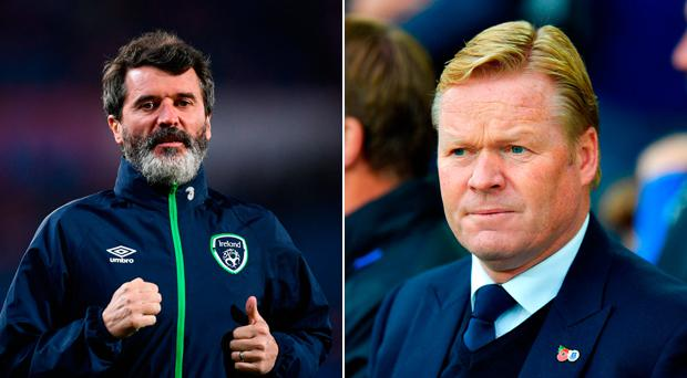 Ronald Koeman has brushed off criticism from Roy Keane