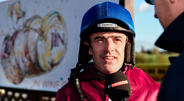 Ruby Walsh after riding Valseur Lido to win the JNwine.com Champion steeplechase race. Photo by Oliver McVeigh/Sportsfile