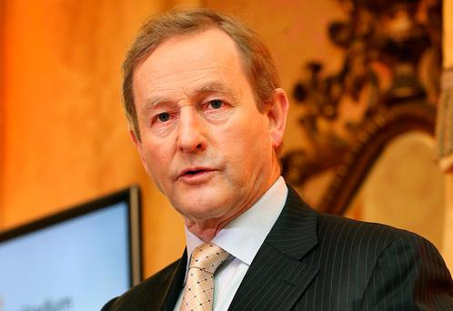 Taoiseach Enda Kenny.. Photo: Steve Humphreys