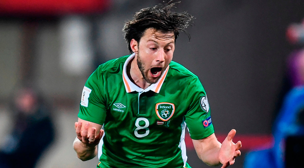 Arter: Competitive debut. Photo: Stephen McCarthy/Sportsfile