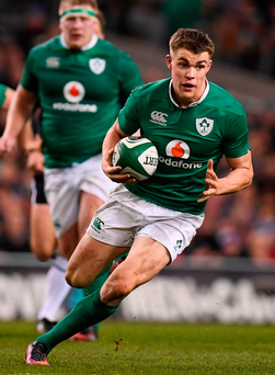 'There were enough positives from Ringrose's overall performance to suggest that he will be a mainstay in the Ireland side for many years to come.' Photo: Ramsey Cardy/Sportsfile