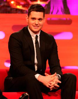 Michael Bublé's three-year-old son, Noah, has been diagnosed with liver cancer. Photo credit: Yui Mok/PA Wire