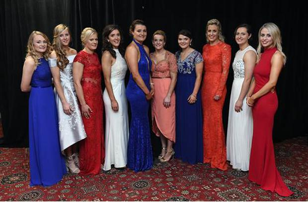 667cc257dd7d 12 November 2016  In attendance at the TG4 Ladies Football All Stars awards  in Citywest