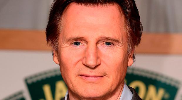 File photo dated 29-03-2015 of Liam Neeson. PRESS ASSOCIATION Photo. Issue date: Monday November 14, 2016. Hollywood star Liam Neeson will help Ireland ratchet up their all-out charm offensive bid to host Rugby World Cup 2023 in Dublin on Tuesday. See PA story RUGBYU World Cup. Photo credit should read Ian West/PA Wire