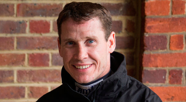 Richard Johnson is likely to join the 2015 Cheltenham Gold Cup winner for a preparatory schooling session. Photo by Michael Steele/Getty Images