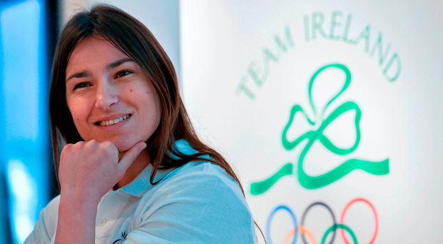 Taylor, who is due home from her USA training camp with Ross Enamait this weekend, will meet the Pole on her professional debut in London on Saturday week. Photo: Brendan Moran/Sportsfile