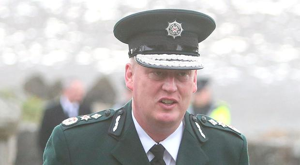 PSNI Chief Constable George Hamilton. Photo: Damien Eagers