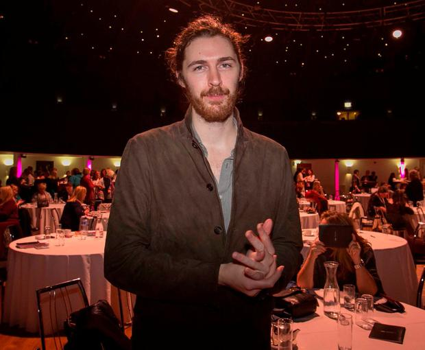 Hozier attended the event. Photo: Gareth Chaney / Collins