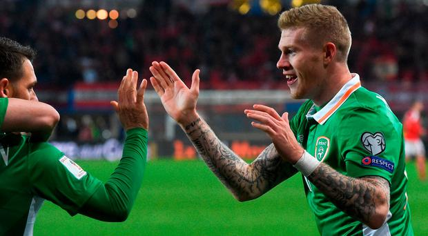 McClean: Must take care to avoid back problems. Photo by David Maher/Sportsfile