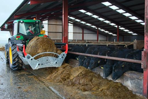 Blaney Agri's X10 bale unroller is the product of nine years research and development