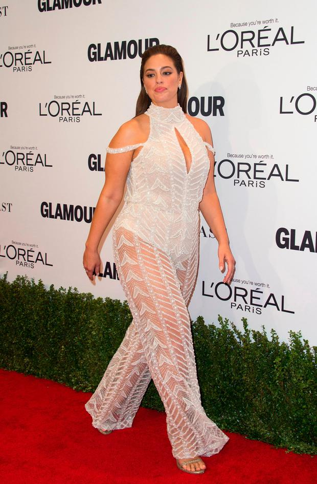 Model Ashley Graham attends 2016 Glamour Women Of The Year Awards