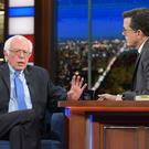 Bernie Sanders on The Late Show with Stephen Colbert