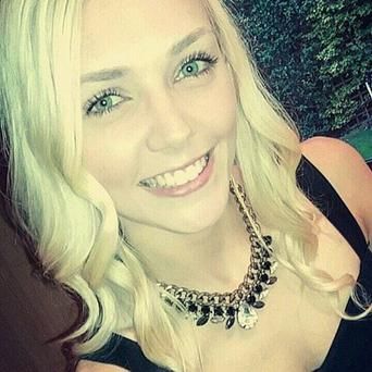 20-year-old Becky Topping who saved little Caiden's life
