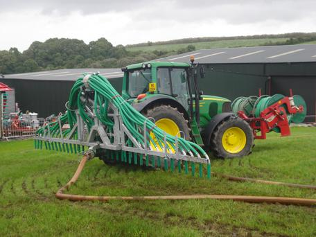 Thousands of farmers chose Low Emissions Slurry Spreading as a GLAS option