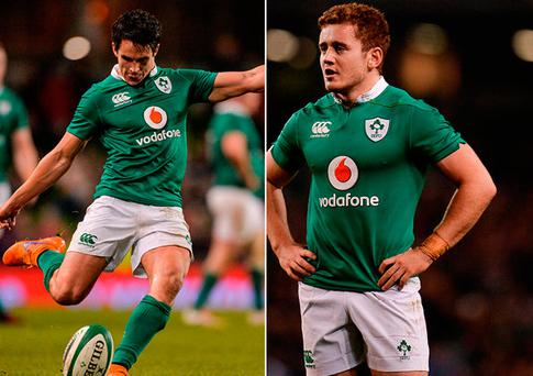 Joey Carbery and Paddy Jackson