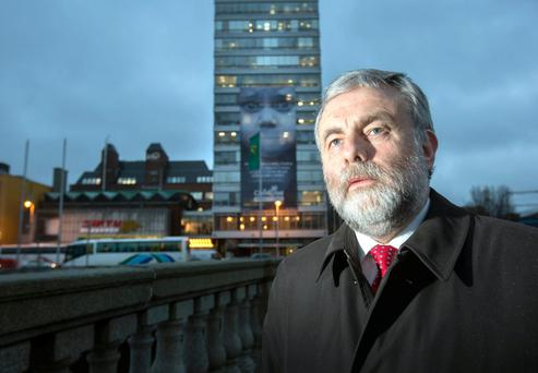 Ministers urged Paschal Donohoe, the Public Expenditure Minister, to stand firm against an ultimatum issued by SIPTU President Jack O'Connor (pictured). Photo: Tony Gavin
