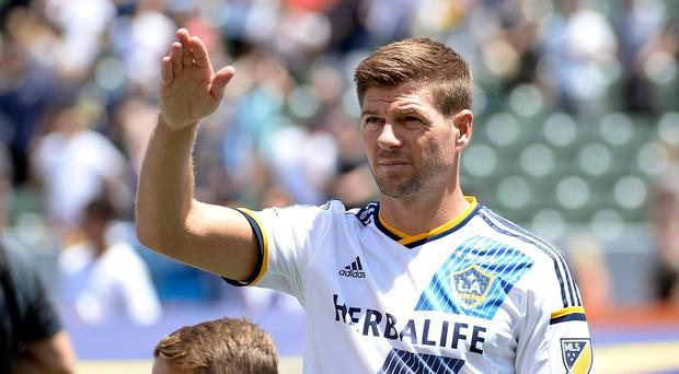 Gerrard swapped Anfield for the StubHub Center in 2015. Getty