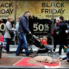 Consumer group Which? found that 49pc of the Black Friday offers in 2015 were not the cheapest on the day itself. Photo: Steve Humphreys