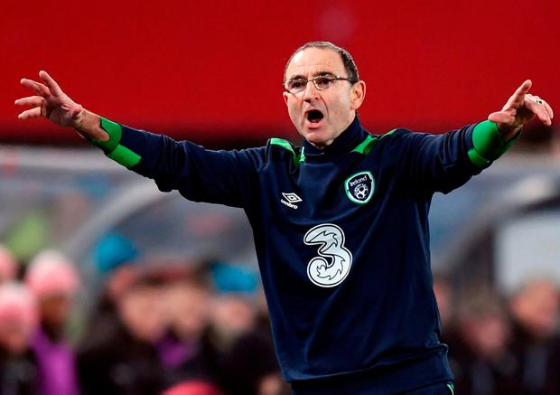 Ireland manager Martin O'Neill can enjoy a break as his team sits at the head of the table. Photo by Stephen McCarthy/Sportsfile
