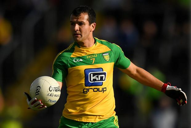 Frank McGlynn of Donegal. Photo by Stephen McCarthy/Sportsfile
