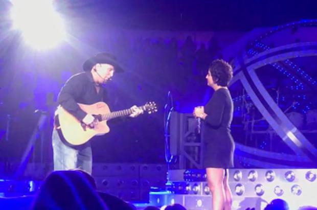 Garth Brooks and Danielle El-Jor