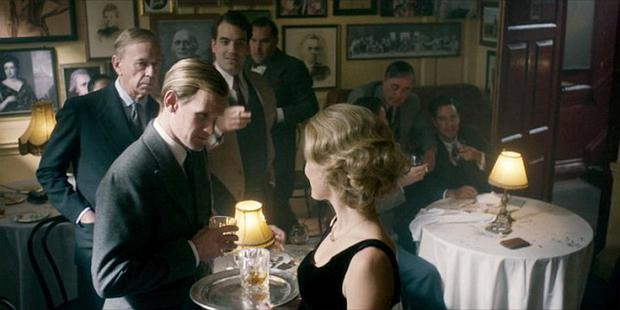 Maeve Madden and Matt Smith in scenes from Netflix productio 'The Crown' - Episode 6