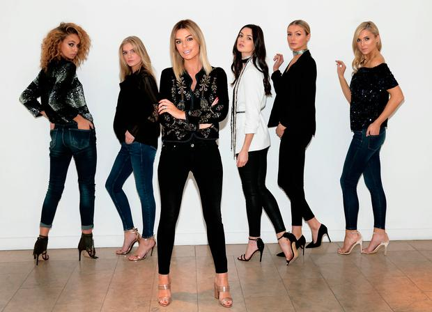 9951ee4e1ea55 Pippa O'Connor pictured with models at the launch of POCO by Pippa.  Picture: Brian McEvoy.