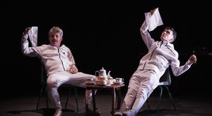 L-R: Andrew Bennett and Mark O' Halloran in The Importance of Nothing