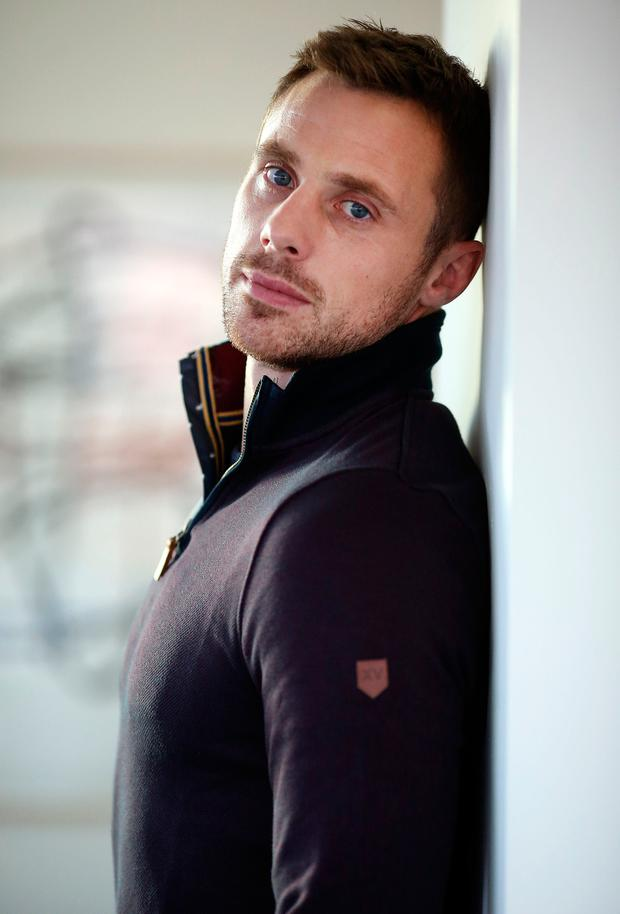 Irish rugby player Tommy Bowe pictured at The Morrison Hotel in his XV Kings clothing range. Picture: Gerry Mooney