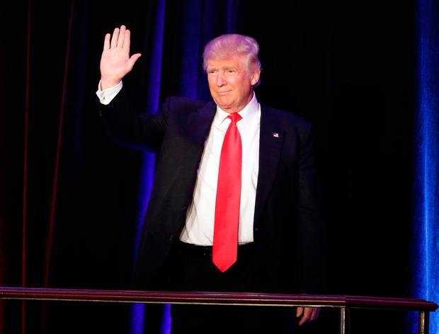 Low-profile: Donald Trump. Photo: AP