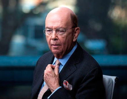 Wall Street tycoon Wilbur Ross. Photo: Bloomberg
