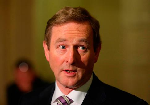 'But will this worry Enda Kenny, whose focus is about hanging onto power rather than the next general election? The path of least resistance may prove too attractive in this regard.' Photo: Niall Carson/PA Wire
