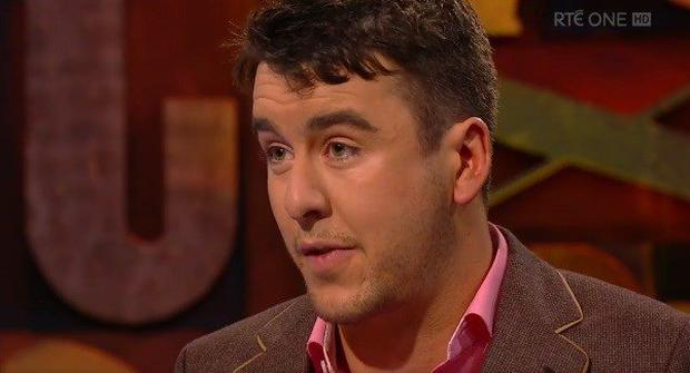 Al Porter spoke about his battle with depression on RTE's Cutting Edge