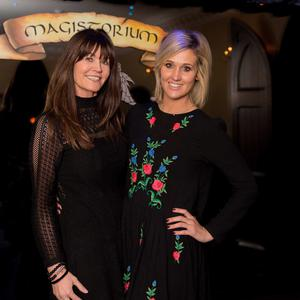 Pictured at the premier of Midnight in Nightown at Magistorium, South Anne Street, Dublin 2 were Jackie Rafter and Kate Marshall. Photo: Leon Farrell/Photocall Ireland.