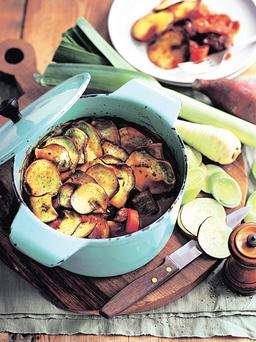 Beef and Root vegetable hotpot