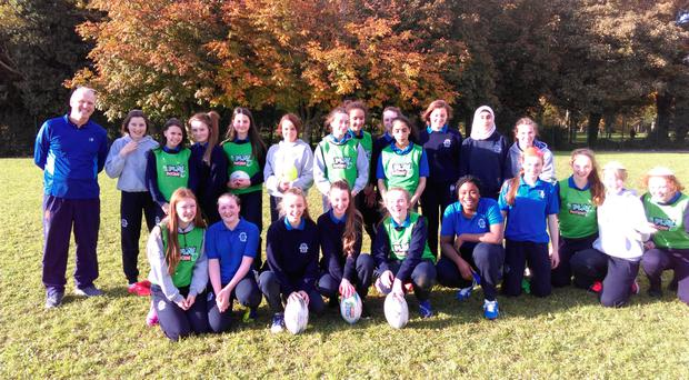 Pupils from Tralee's Presentation Secondary School recently completed a five-week rugby programme