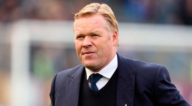 Everton manager Ronald Koeman. Picture: PA