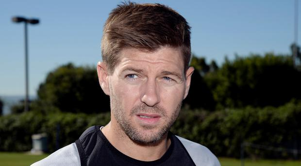 Talks have already been held with MK Dons regarding the possibility of Gerrard succeeding Karl Robinson, who left the club last month. Photo by Kevork Djansezian/Getty Images