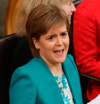 Nicola Sturgeon Photo: Andrew Milligan/PA Wire