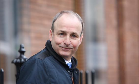Fianna Fáil leader Micheál Martin says Government plans for scrapping the USC are not in the land of reality Photo: Gareth Chaney