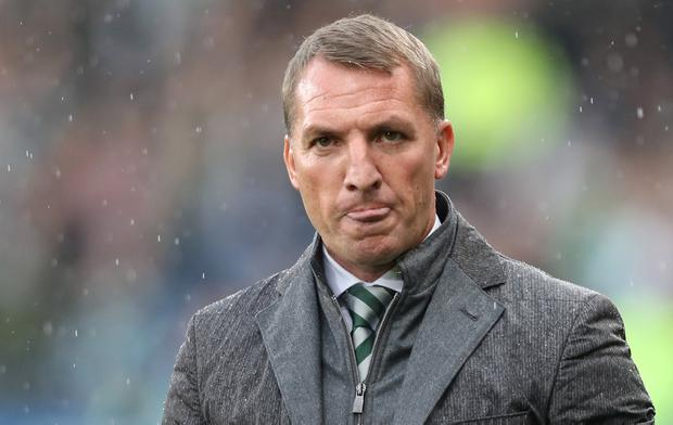 Celtic manager Brendan Rogers