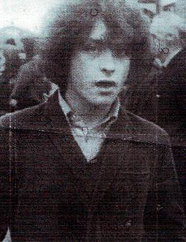 Kevin McKee: teenager was shot in head by IRA Picture: PA
