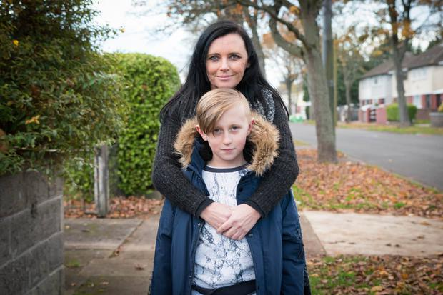 Jamie Fetherston (10) pictured with his mum Peter Varga/Humans of Dublin