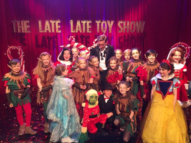 The Late Late Toy Show talent competition