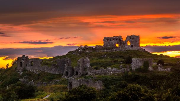 Rock of Dunamase, Co. Laois (pic by username Celticclog65)