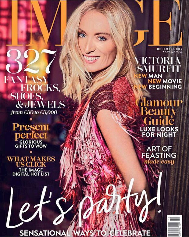 Victoria Smurfit covers the December issue of Image Magazine