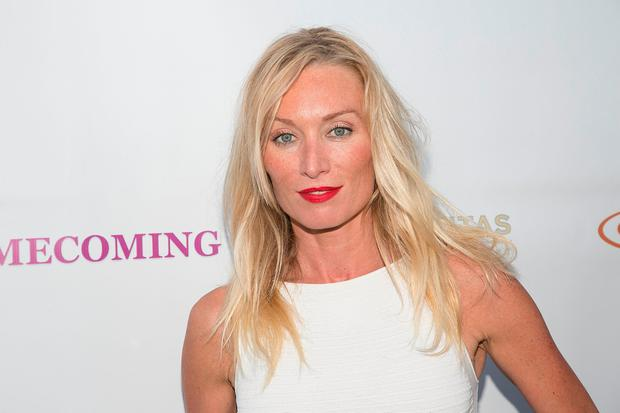 Victoria Smurfit arrives for the screening of Radar Pictures'