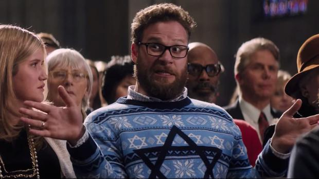 Image: Seth Rogen in The Night Before.